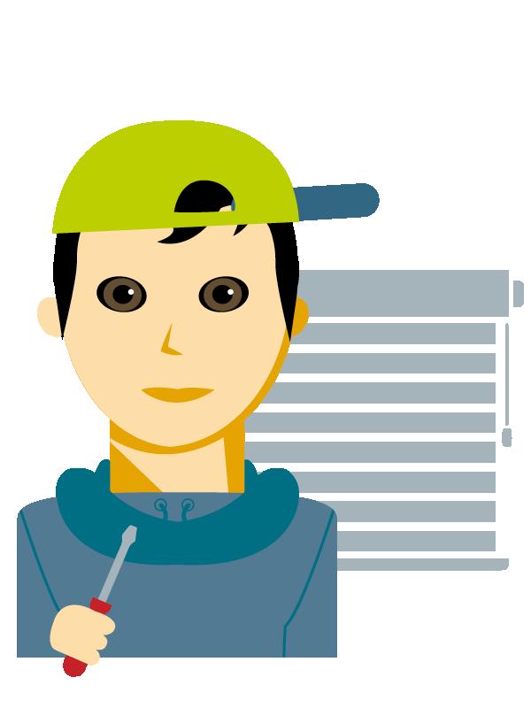 Emoji zum Beruf Sonnenschutztechnik