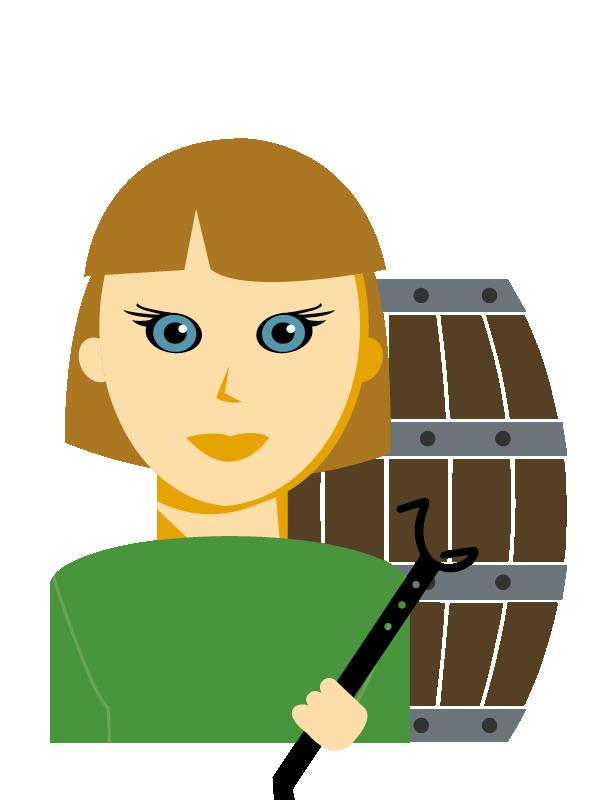 Emoji zum Beruf Fassbinder/in