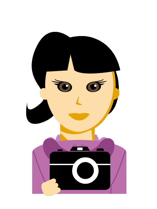 Emoji zum Beruf Berufsfotograf/in