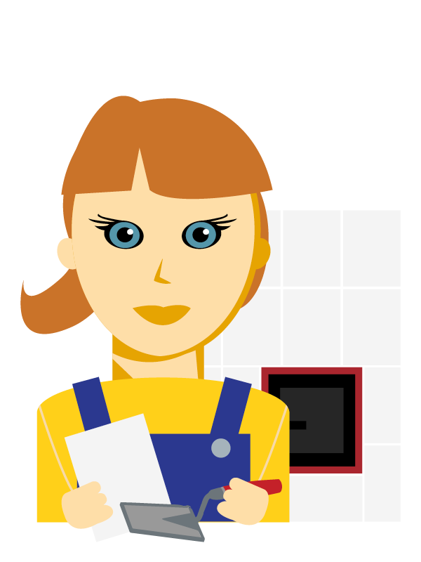Emoji zum Beruf Hafner/in