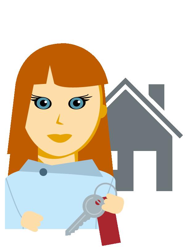 Emoji zum Beruf Immobilien-Kaufmann/-frau