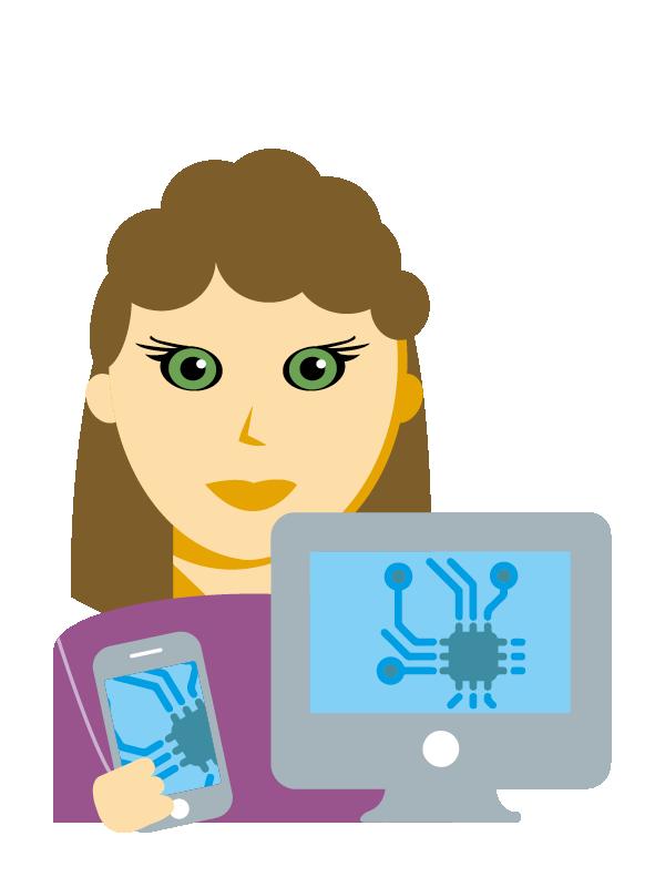 Emoji zum Beruf Informations-Technologie