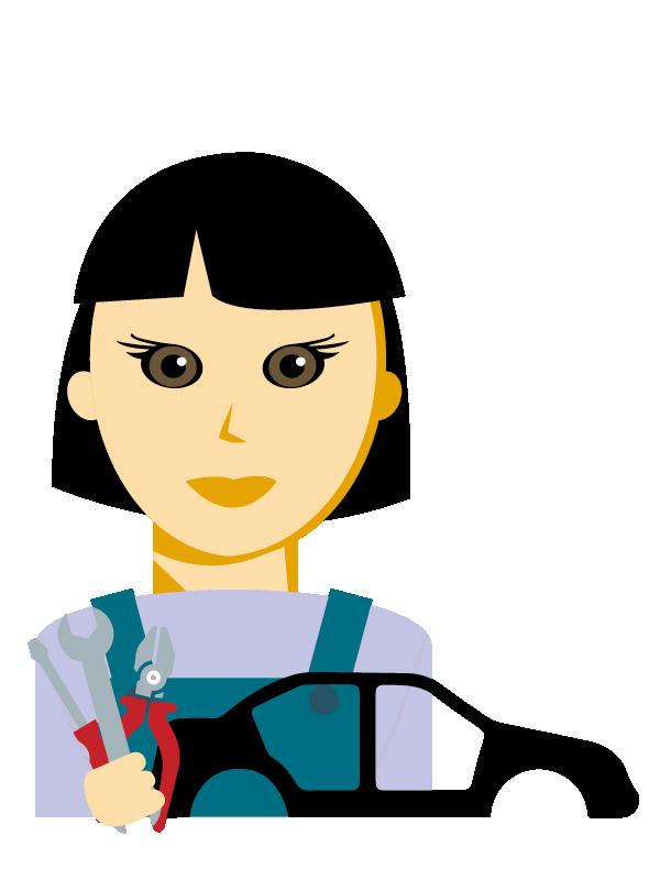 Emoji zum Beruf Karosseriebau-technik