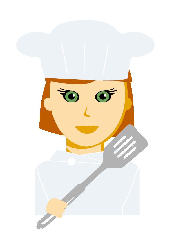 Emoji zum Beruf Koch/Köchin
