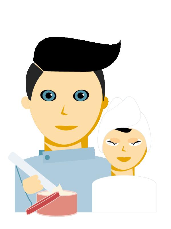 Emoji zum Beruf Kosmetiker/in