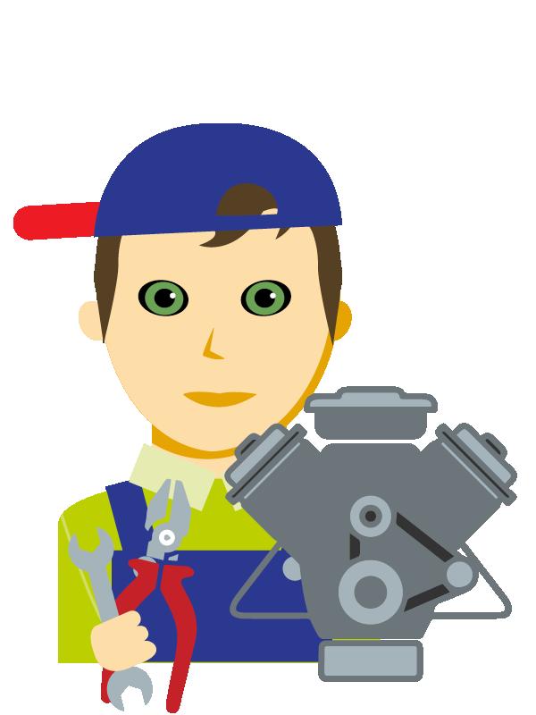 Emoji zum Beruf Kraftfahrzeug-Techniker/in