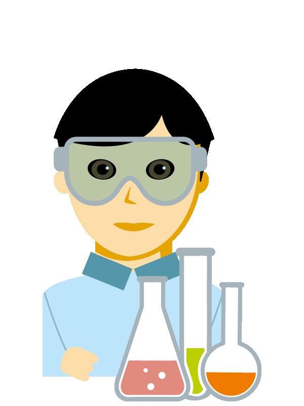 Emoji zum Beruf Labortechnik