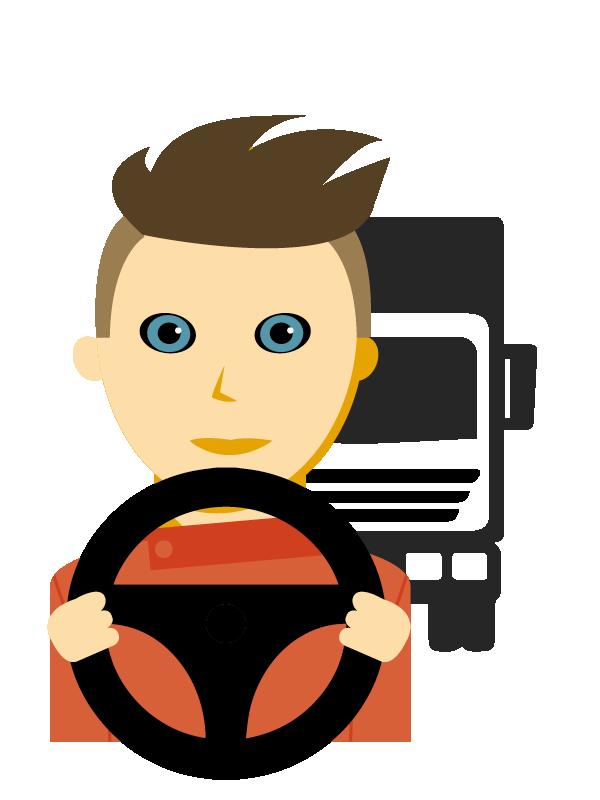 Emoji zum Beruf Berufskraftfahrer/in