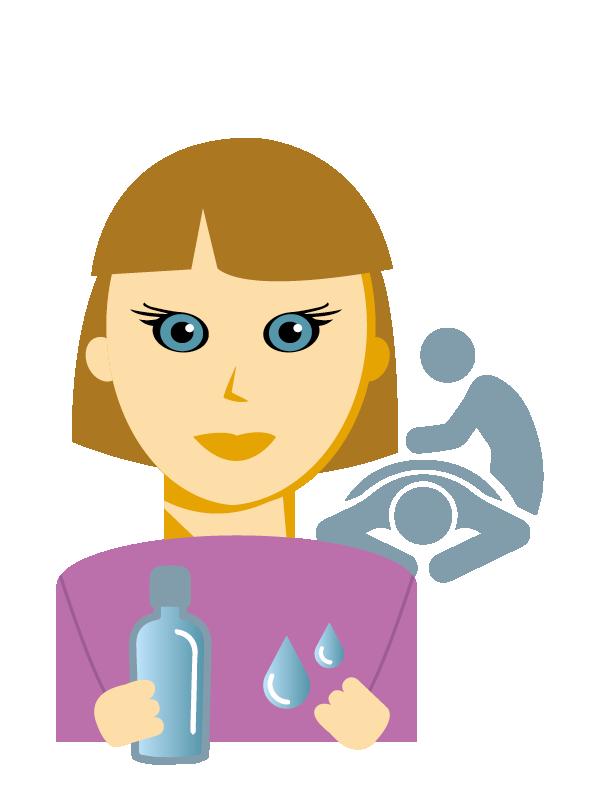 Emoji zum Beruf Masseur/in