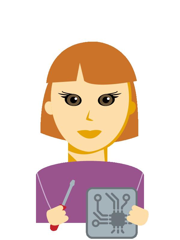 Emoji zum Beruf Mechatronik