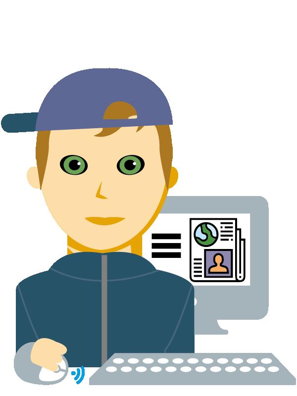Emoji zum Beruf Medienfachmann/-frau
