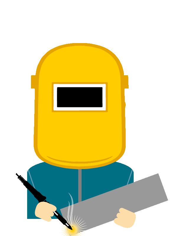 Emoji zum Beruf Metalltechnik