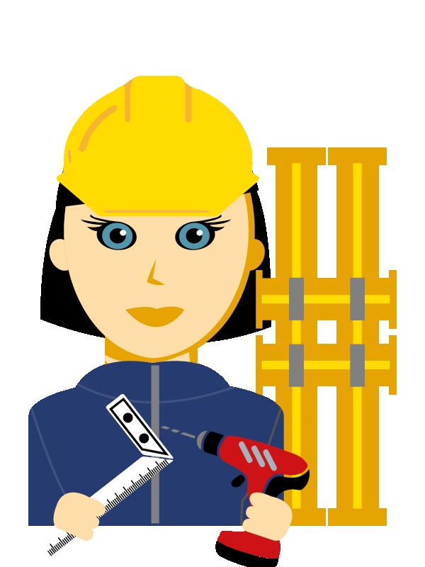 Emoji zum Beruf Betonbauer/in