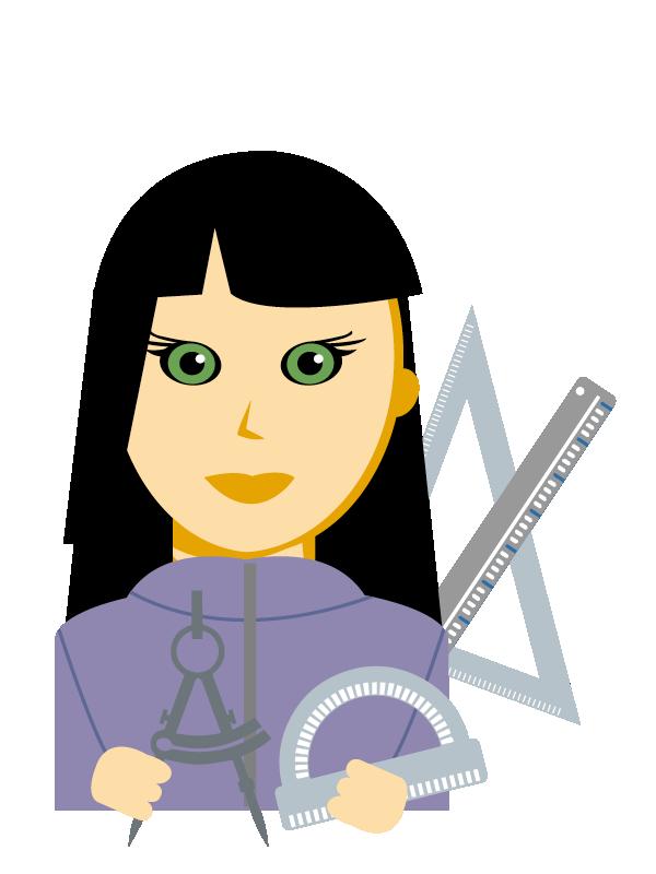 Emoji zum Beruf Technische/r Zeichner/in