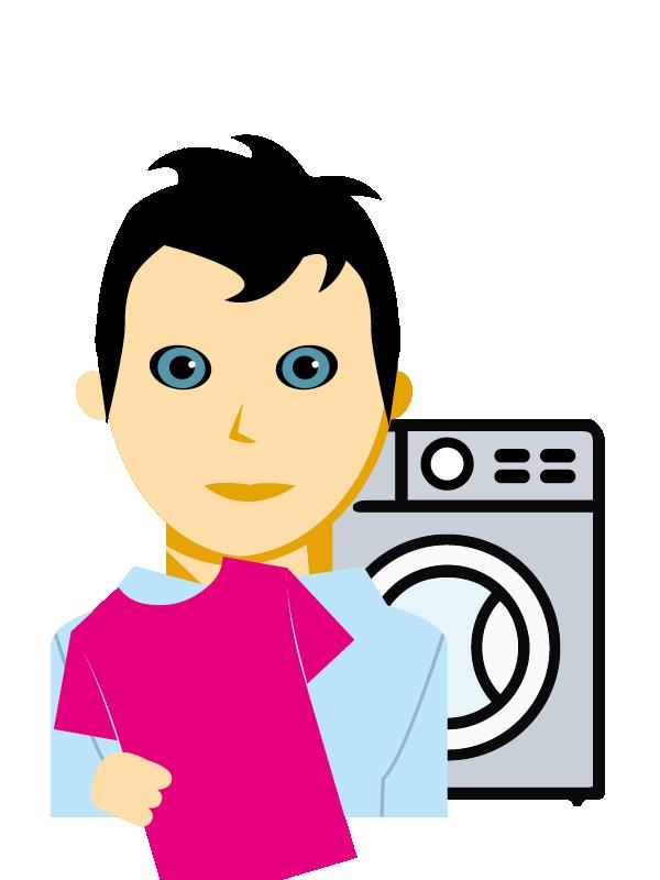 Emoji zum Beruf Textilreiniger/in