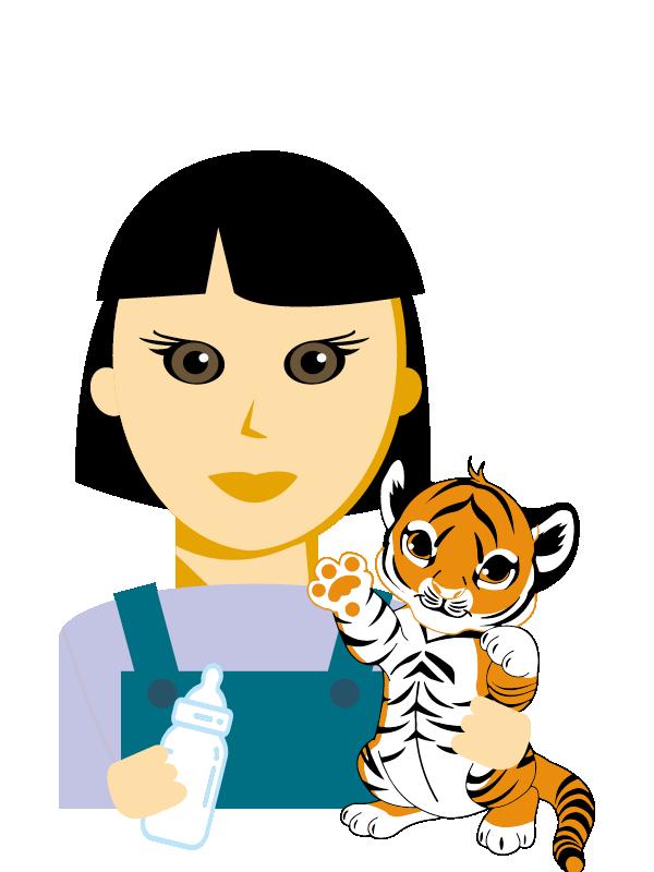 Emoji zum Beruf Tierpfleger/in