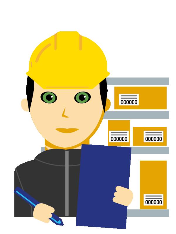 Emoji zum Beruf Betriebslogistikkaufmann/-frau