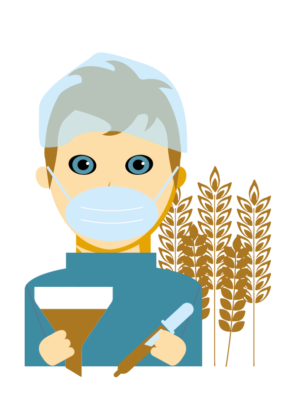 Emoji zum Beruf Verfahrens-Techniker/in für die Getreidewirtschaft