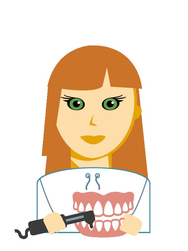 Emoji zum Beruf Zahntechniker/in